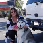 Another happy Siberian dog breed in Vacaville CA just vaccinated at pet clinic from dogandcatshots.com