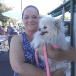 Pomeranian at Sacramento low cost vaccination clinic
