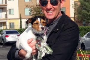 Violet the Jack Russell Terrier entertains us in Folsom