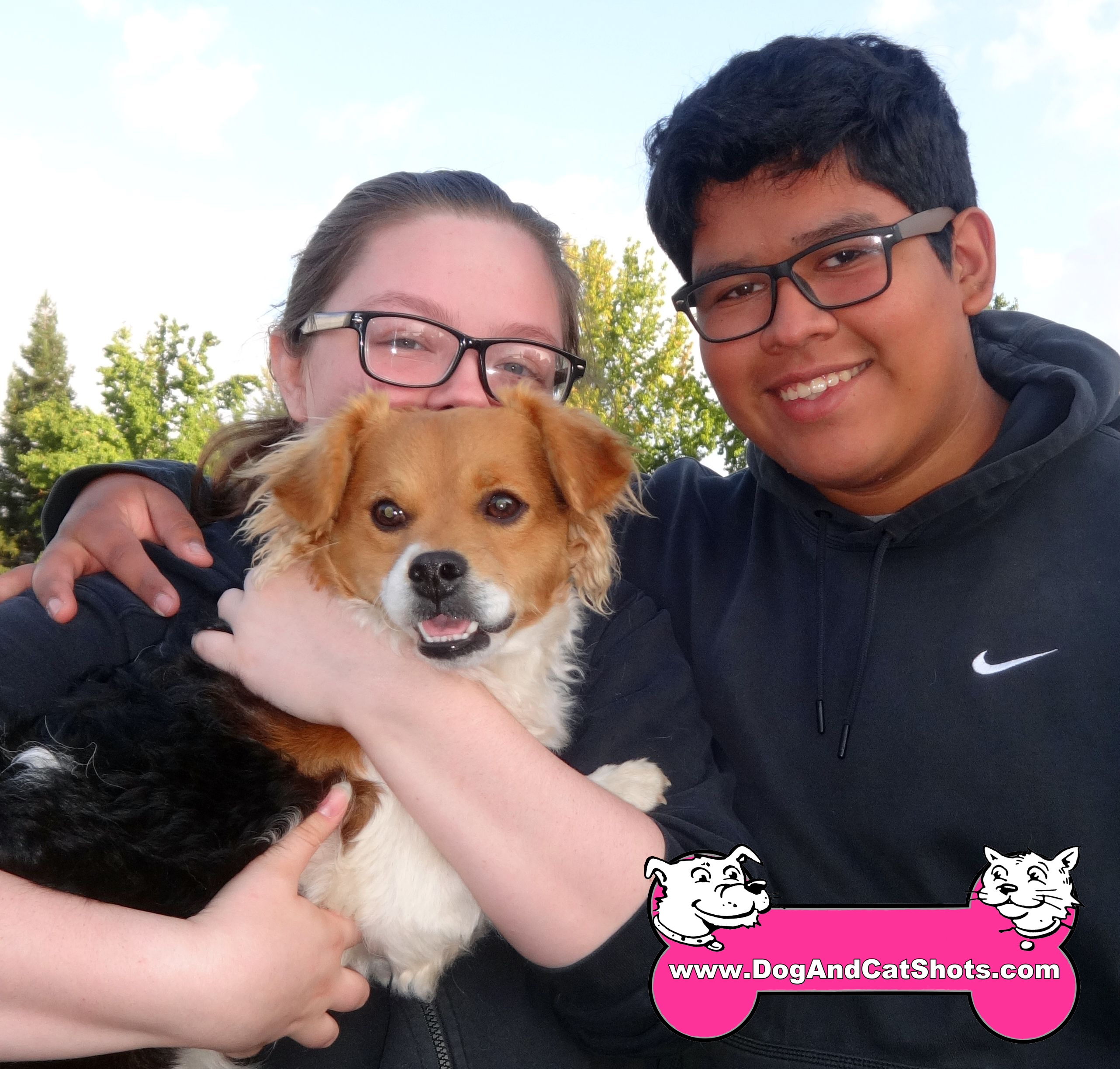 At our Lodi Stockton Clinic, Snoopy and his human showed up.